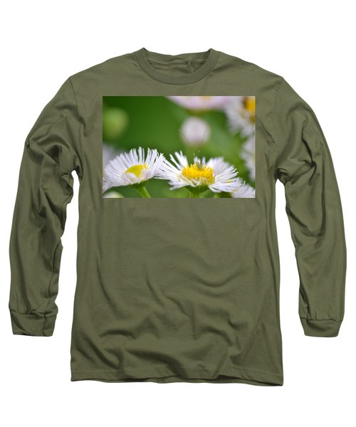 Long Sleeve T-Shirt featuring the photograph Floral Launch-pad by JD Grimes