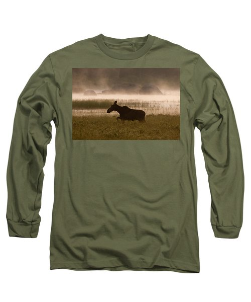 Foggy Stroll Long Sleeve T-Shirt