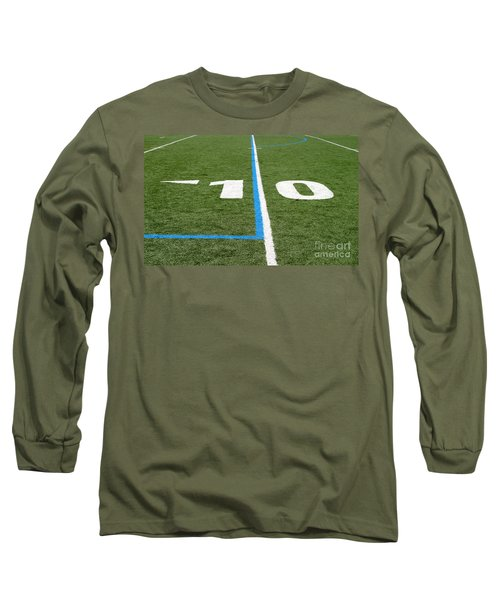 Long Sleeve T-Shirt featuring the photograph Football Field Ten by Henrik Lehnerer