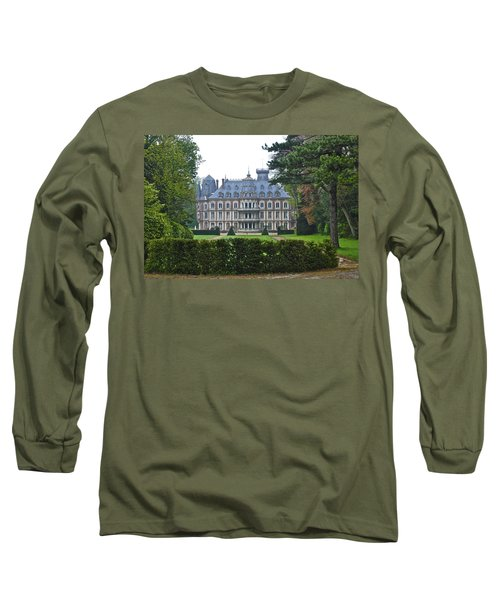 French Country Mansion Long Sleeve T-Shirt