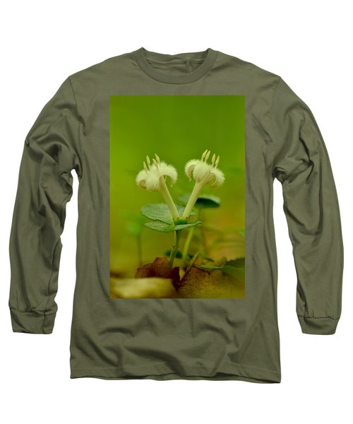 Long Sleeve T-Shirt featuring the photograph Fuzzy Blooms by JD Grimes