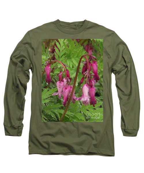 Garden Rain Drops Long Sleeve T-Shirt