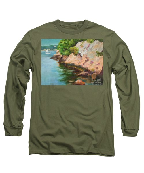 Gloucester Sail Boat Long Sleeve T-Shirt