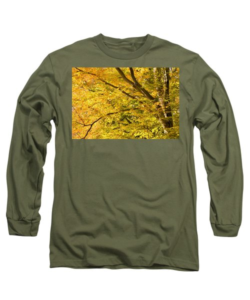 Golden Autumn Long Sleeve T-Shirt