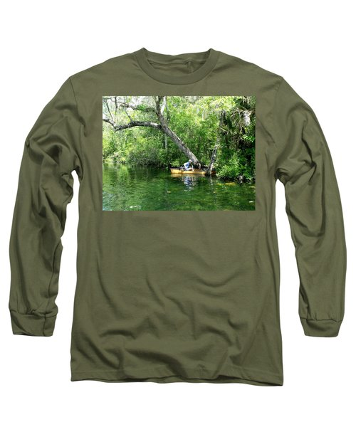 Golden Canoe Launch Long Sleeve T-Shirt