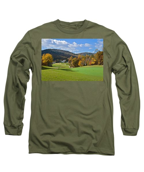 Golf Course In Autumn Long Sleeve T-Shirt