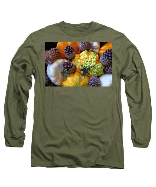 Long Sleeve T-Shirt featuring the photograph Gourds 5 by Deniece Platt