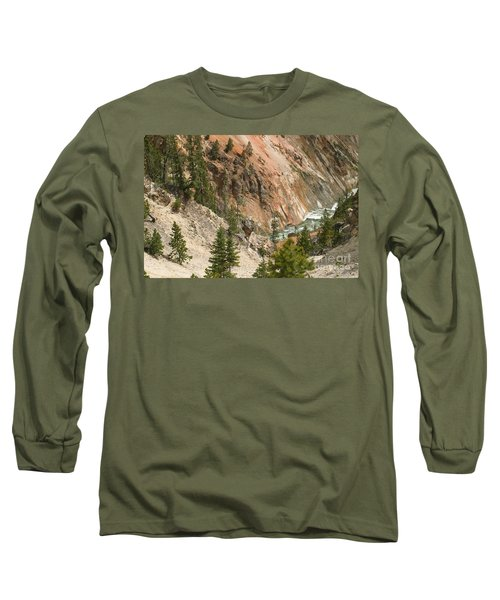 Grand Canyon And Yellowstone River Long Sleeve T-Shirt by Living Color Photography Lorraine Lynch