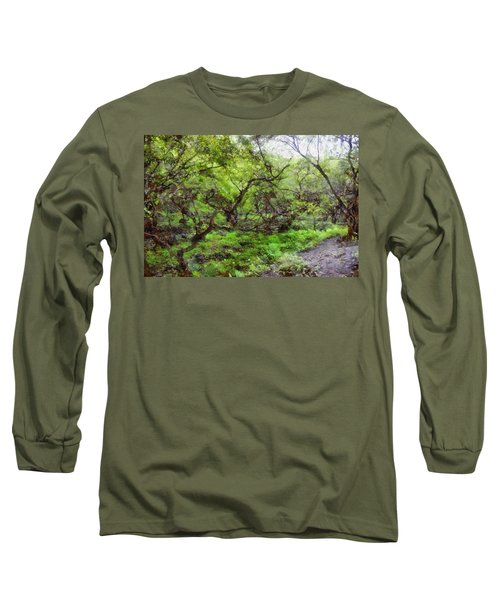 Greenery Long Sleeve T-Shirt