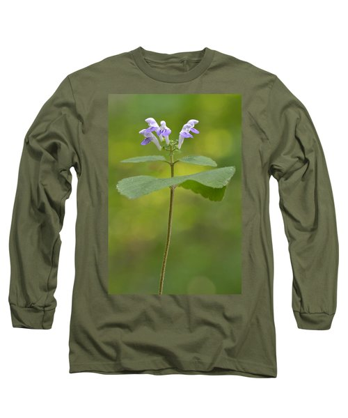Hairy Skullcap II Long Sleeve T-Shirt by JD Grimes