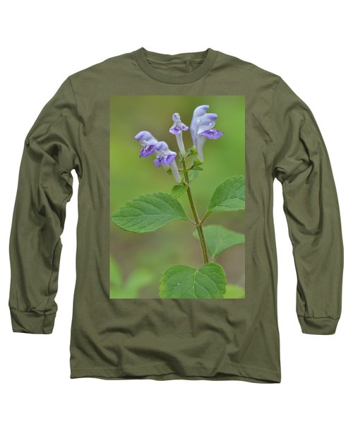 Long Sleeve T-Shirt featuring the photograph Hairy Skullcap by JD Grimes