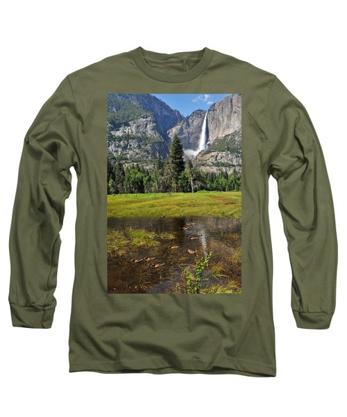 Long Sleeve T-Shirt featuring the photograph Happy Campers by Lynn Bauer