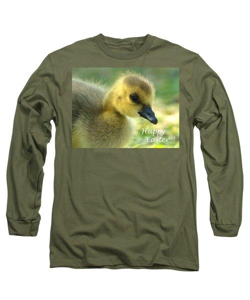 Happy Easter Gosling Long Sleeve T-Shirt