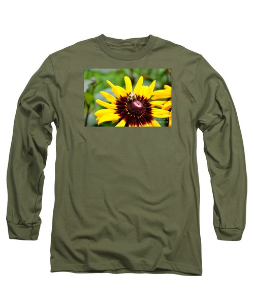 Long Sleeve T-Shirt featuring the photograph Happy Rudbeckia by Tanya  Searcy