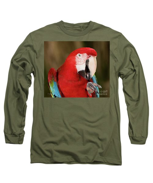 He Went That Way Long Sleeve T-Shirt