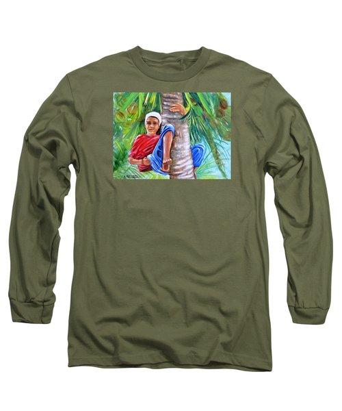 Hey Coconut Mon Long Sleeve T-Shirt