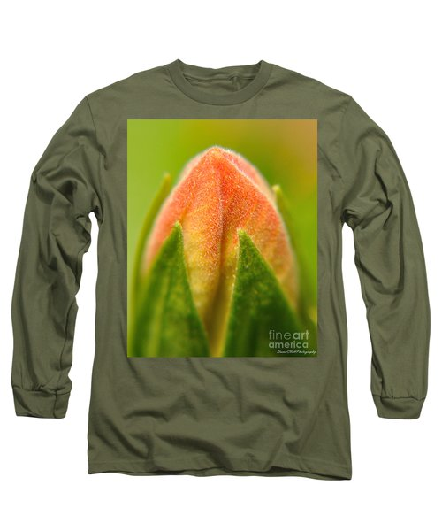 Hibiscus Bud Long Sleeve T-Shirt