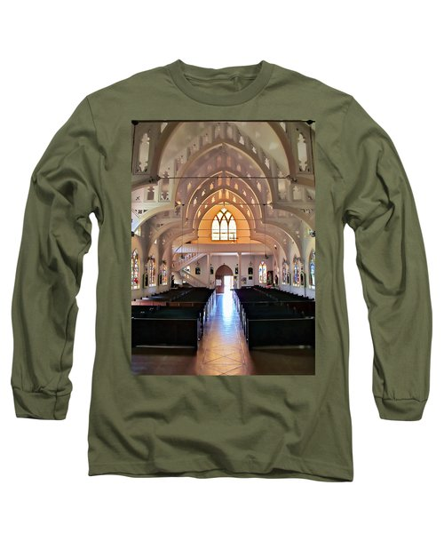 Long Sleeve T-Shirt featuring the photograph Holy Rosary 2 by Dawn Eshelman