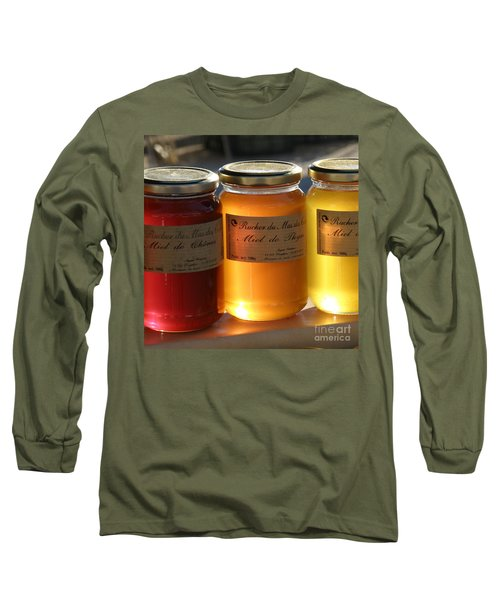 Long Sleeve T-Shirt featuring the photograph Honey by Lainie Wrightson