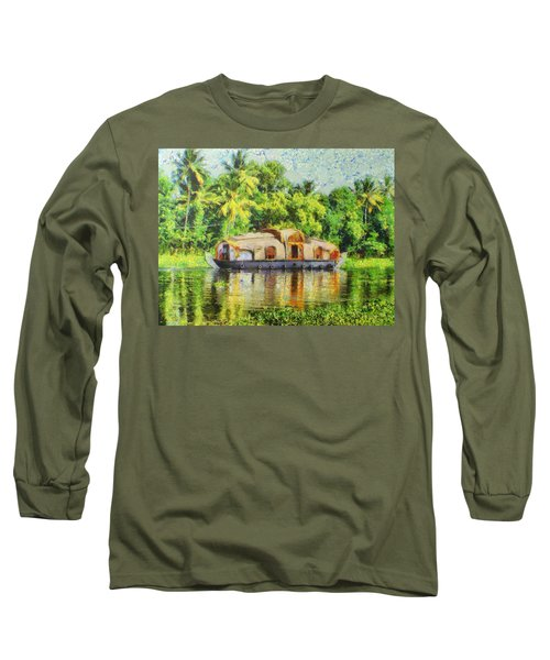 Houseboat Long Sleeve T-Shirt