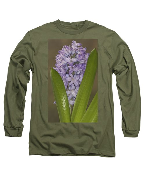 Hyacinth In Full Bloom Long Sleeve T-Shirt