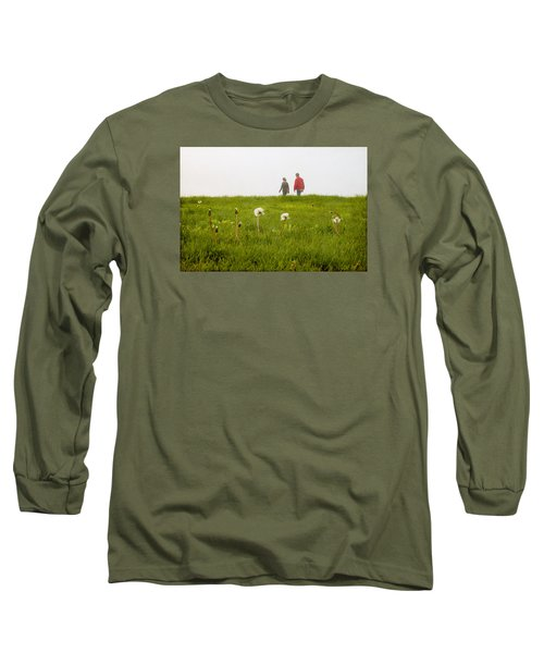 Long Sleeve T-Shirt featuring the photograph In The Mist by Milena Ilieva