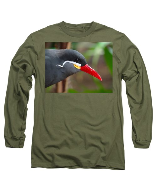 Long Sleeve T-Shirt featuring the photograph Inca Tern by Julia Wilcox