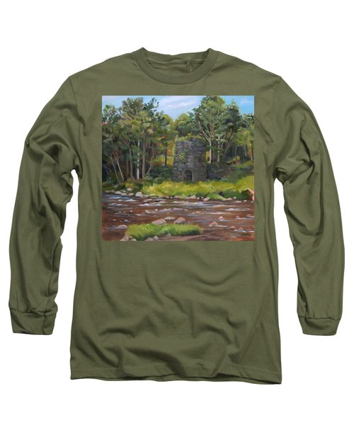 Iron Furnace Of Franconia New Hampshire Long Sleeve T-Shirt