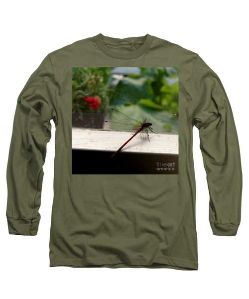 Long Sleeve T-Shirt featuring the photograph It's Always Greener by Lainie Wrightson