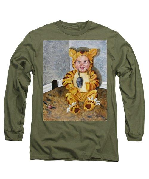 James-a-cat Long Sleeve T-Shirt