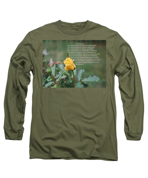 Just From Me Long Sleeve T-Shirt