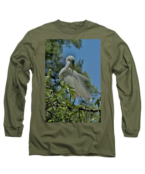 Long Sleeve T-Shirt featuring the photograph Just So by Joseph Yarbrough