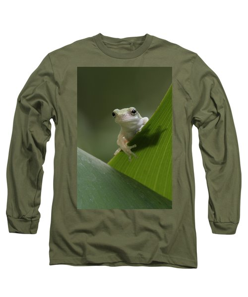 Juvenile Grey Treefrog Long Sleeve T-Shirt