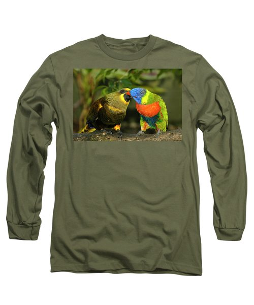 Kissing Birds Long Sleeve T-Shirt