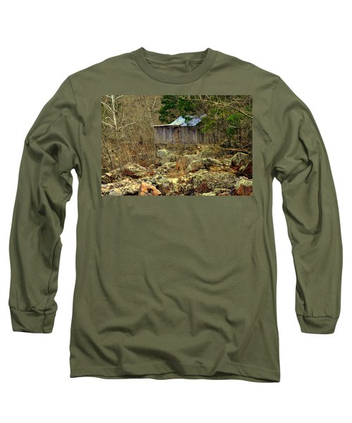 Long Sleeve T-Shirt featuring the photograph Klepzig Mill by Marty Koch