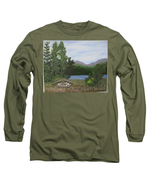 Kootenay Lake Bc Long Sleeve T-Shirt