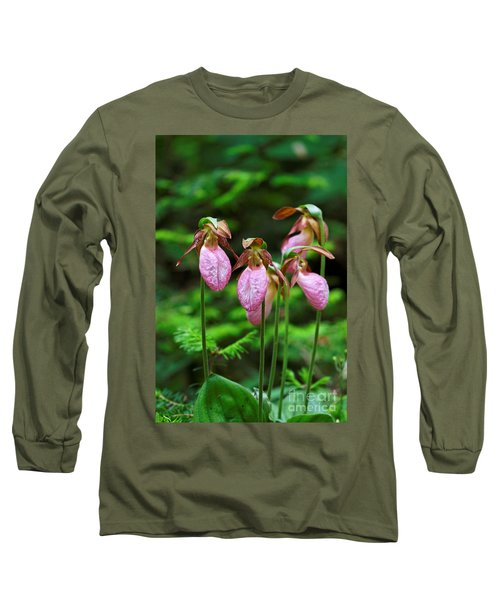 Lady Slippers Everywhere Long Sleeve T-Shirt