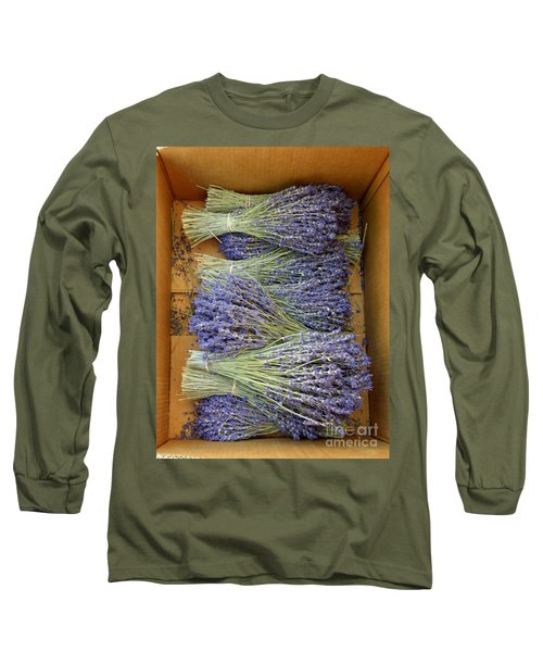 Long Sleeve T-Shirt featuring the photograph Lavender Bundles by Lainie Wrightson