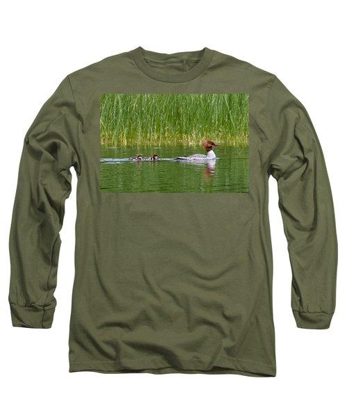 Lazy Swim Long Sleeve T-Shirt