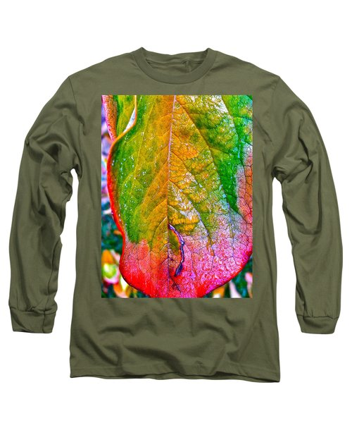 Long Sleeve T-Shirt featuring the photograph Leaf 2 by Bill Owen