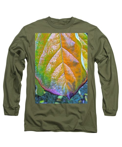 Long Sleeve T-Shirt featuring the photograph Leaf by Bill Owen