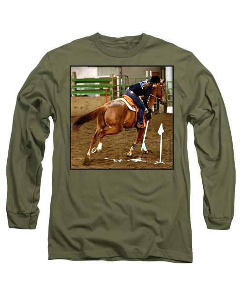 Let The #games Begin! Andy And Chrissy Long Sleeve T-Shirt