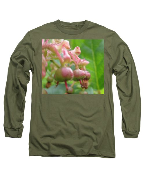 Long Sleeve T-Shirt featuring the photograph Lilly Of The Valley Close Up by Kym Backland