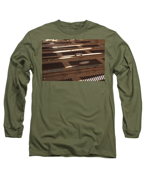 Long Sleeve T-Shirt featuring the photograph Lock Of Time by Fran Riley