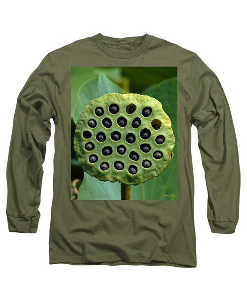 Lotus Capsule-missing Children Dl054 Long Sleeve T-Shirt