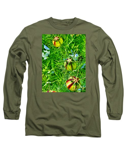 Long Sleeve T-Shirt featuring the photograph Love In A Mist by Steve Taylor