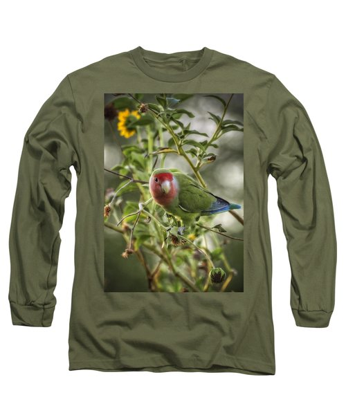 Lovely Little Lovebird Long Sleeve T-Shirt