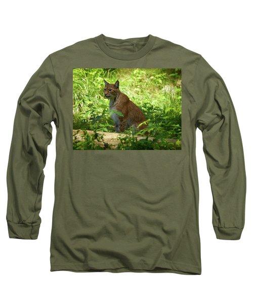Lynx Long Sleeve T-Shirt by Jouko Lehto