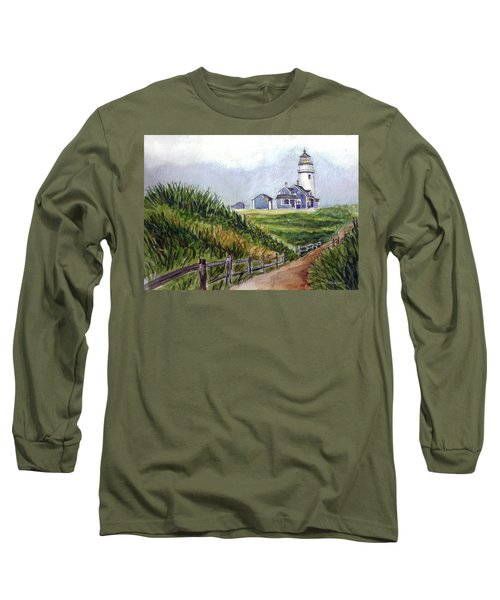 Maine Light Long Sleeve T-Shirt