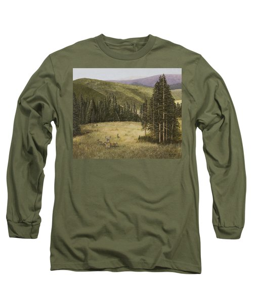 Majesty In The Rockies Long Sleeve T-Shirt